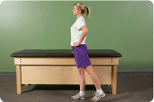 Standing extension without resistance