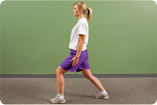 Lunges progress from single plane to tri-planar, add medicine balls for resistance and rotation